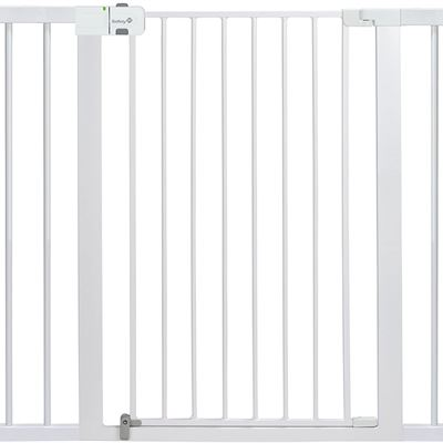 NEW Safety 1st Tall and Wide Easy Install Gate, White