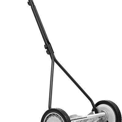 "Great States 415-16 16"" Standard Full Feature Push Reel Lawn Mower with T-Style Handle and Heat Treated Blades"