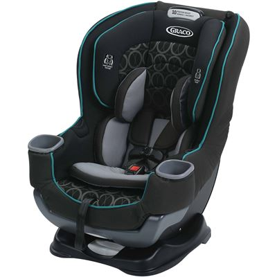 NEW Graco Extend2Fit Convertible Car Seat, Valor