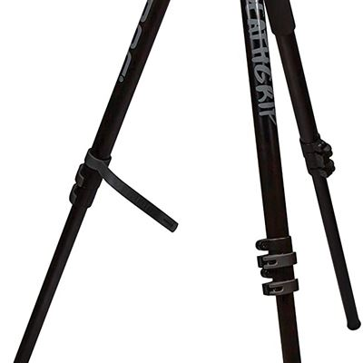 NEW BOGgear Deathgrip Aluminum Tripod with Durable, Lightweight, Stable Design, Bubble Level and Hands-Free Operation for Hunting, Shooting & Outdoor