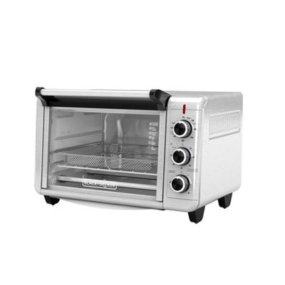 Black + Decker Crisp 'N Bake Air Fry Toaster Oven in Stainless Steel