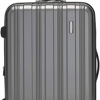 New Samsonite Phoenix 1 Spinner Medium Expandable Luggage, Charcoal, Checked ? Medium (Model: 117476-1174)