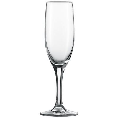NEW Schott Zwiesel 0008.133934 Mondial 6.9 oz. Flute Glass - 6/Case