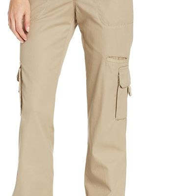 NEW Dickies Women's Relaxed Cargo Pant, 10, Desert Sand