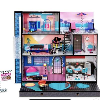 New LOL Surprise OMG House � New Real Wood Doll House with 85+ Surprises