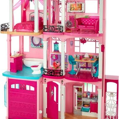 New Dreamy Dreamhouse for Barbie Doll Features Interactive Lights, Sounds and Motion, a Pool and Garage