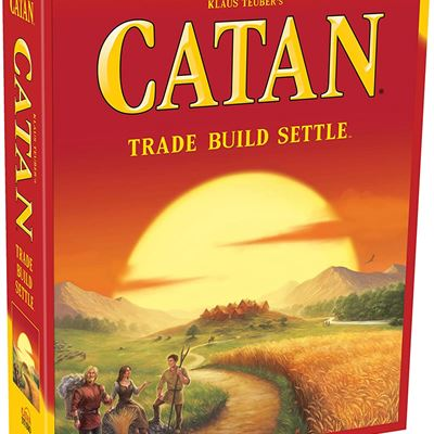 New CATAN (English Version) A board game by Klaus Teuber