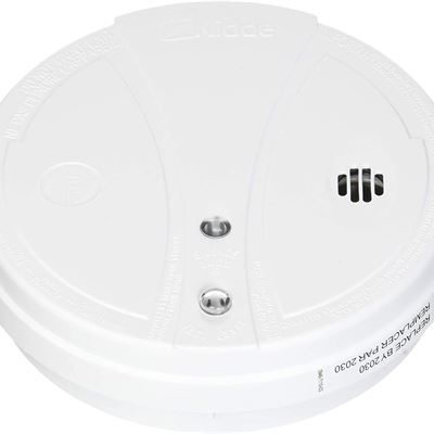 New Kidde 380-PPE120CA White 120V (Hardwired) AC Photoelectric Smoke Alarm with 9V Battery Backup PPE120CA