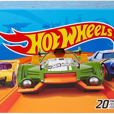 New Hot Wheels 17-Car Pack of 1:64 Scale Vehicles, Gift for Collectors & Kids Ages 3 Years Old & Up [Styles May Vary]