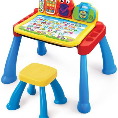 New VTech Touch & Learn Activity Desk Deluxe (Frustration Free Packaging - English Version)