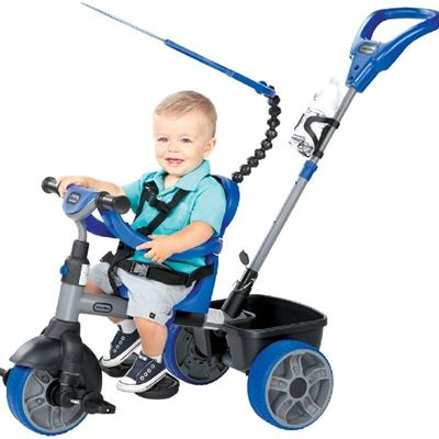 New Little Tikes 4-in-1 Ride On, Blue, Basic Edition