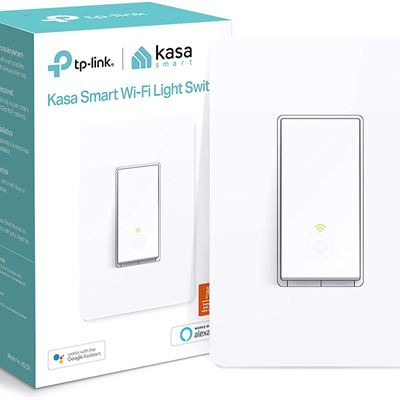 New Kasa Smart Light Switch by TP-Link (HS200) Single Pole, Neutral Wire Required, 2.4GHz WiFi Light Switch Works with Alexa and Google Assistant