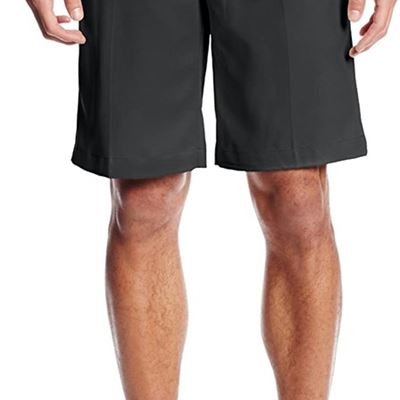 NEW Izod Men's Classic Fit Golf Short, 33W, Caviar