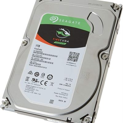 NEW Seagate FireCuda Compute 1TB Solid State Hybrid Drive Performance SSHD 3.5 Inch SATA 6Gb/s Flash Accelerated for Gaming (ST1000DX002)