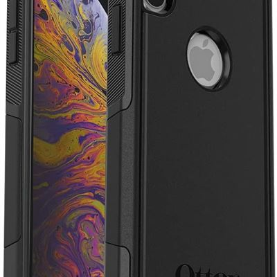New OtterBox COMMUTER SERIES Case for iPhone Xs Max - Retail Packaging - BLACK