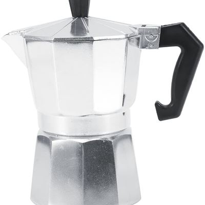 New Coffee Moka Pot, 3/6/9/12 Cups Stovetop Aluminum Italian Moka Pot with Handle Ceramic Stovetops for Home Office Use