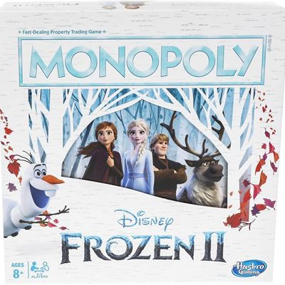 NEW Monopoly Game: Disney Frozen 2 Edition Board Game for Ages 8 & Up