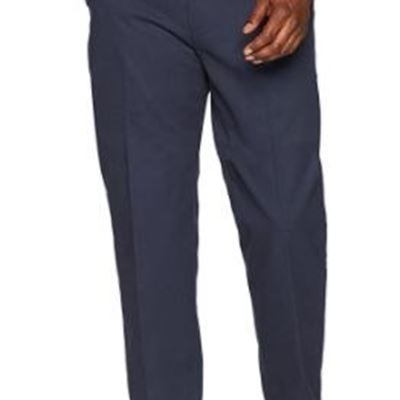 New Essentials Men's Classic-Fit Wrinkle-Resistant Flat-Front Chino Pant