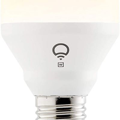 New LIFX Mini White (A19) Wi-Fi Smart Led Light Bulb (Latest Generation), Dimmable, Warm White, No Hub Required