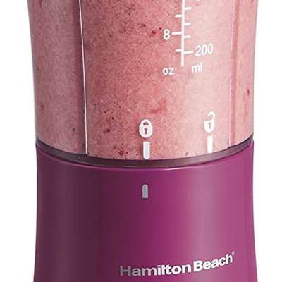 New Hamilton Beach 51131 Single-Serve Blender with Travel Lid