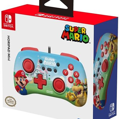 NEW HORI Nintendo Switch Mini Pad (Super Mario Edition) Officially Licensed by Nintendo