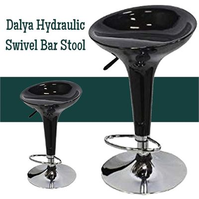 NEW Dalya Hydraulic Swivel Bar Stool x2